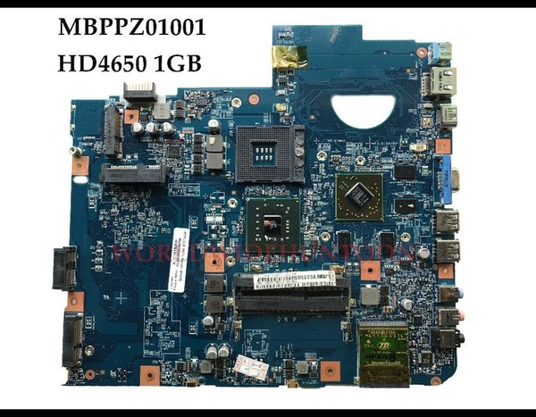 Original Laptop Motherboard for Acer Aspire 5738G MBPPZ01001 PM45 DDR3 JV50-MV 48.4CG10.011 HD4650 1GB 100% Fully Tested