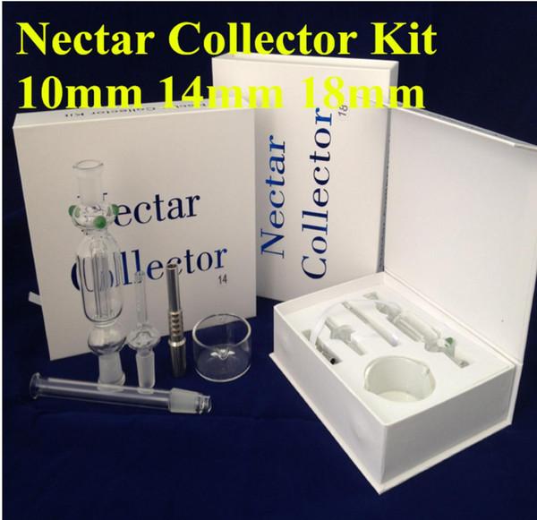 Kit de collecteur de nectar Micro 10 mm avec embout en titane Clou en titane pour capturer les cendres de cendres à sec