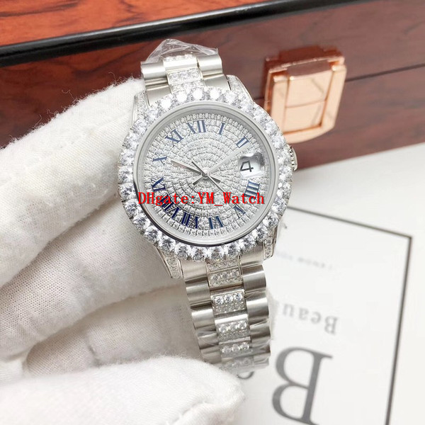 New Best Quality Full Diamond Women Watch 2671 Automatic Movement 31MM Luxury Watch AAA Waterproof Watches 316 Stainless Steel Lady