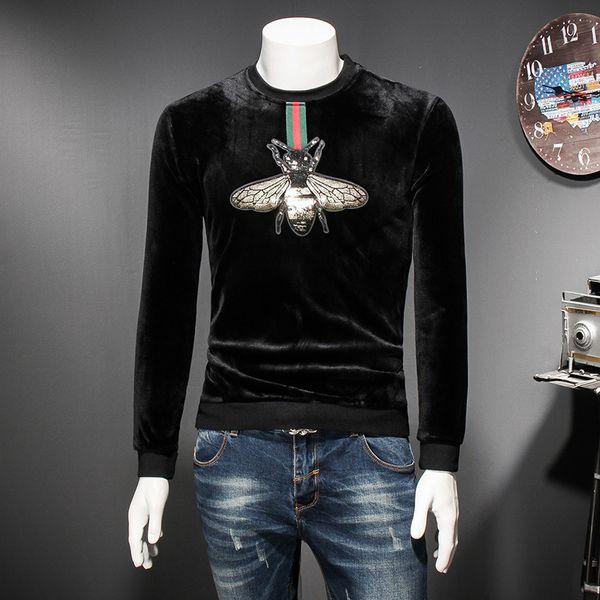 2018 New Autumn and Winter Men's Designer Hoodie High Quality Luxury Men's Sweater Long Sleeve Luxury Sweatshirt Plus Size M-3XL