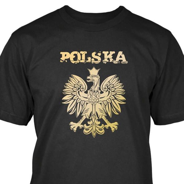 Details zu Polen T-Shirt Adler Polska Polónia Warschau Engraçado frete grátis Unisex presente Ocasional