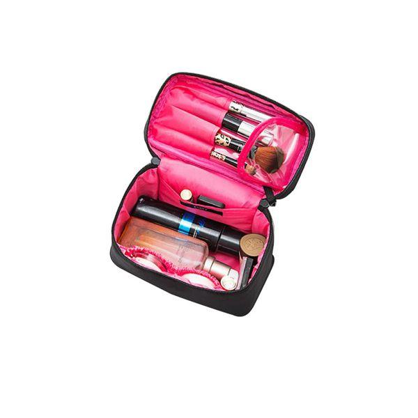 Yesello Original Fashion Large Capacity Portable Makeup Brush Cosmetic Bag Travel Wash Toiletry Organizer Underwear Storage Bag
