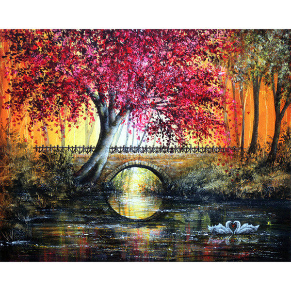 5D DIY Diamond Painting Photo Custom Make Your Own Scenery Picture Embroidery