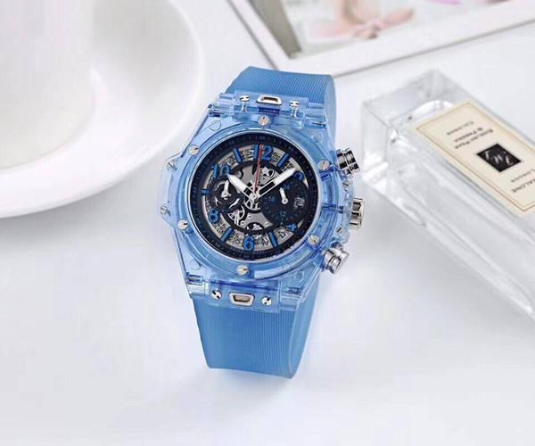 Top Quality Casual Fashion Hollow Watches men Luxur brand Army Skull sport quartz watch