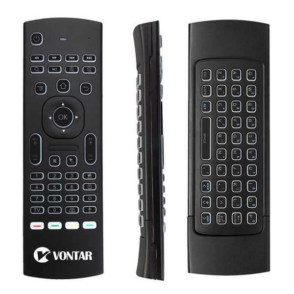 50pc mx3 pro mic voice air mou e 6 axi omato en ory multifunctional 2 4g mini backlit wirele keyboard infrared remote control learning