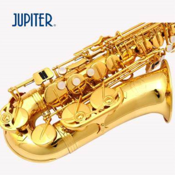 Music Instrument New Taiwan JUPITER JAS-500Q Alto Eb Tune Saxophone Gold Lacquer Sax With Case Mouthpiece Professional Free Shipping