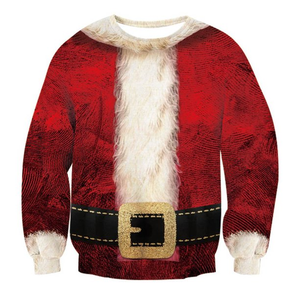 Family Clothes 2018 Winter Sweatshirt Christmas Santa Claus Children Clothing Kid Shirt Family Matching Outfits