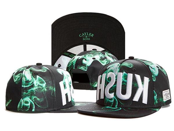 18 colors Snapbacks Ball Hats Fashion Street Headwear adjustable size Cayler & Sons custom football baseball caps drop shipping top quality