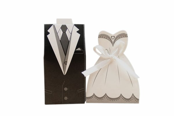Free Shipping+New Arrival bride and groom box wedding boxes favour boxes wedding favors