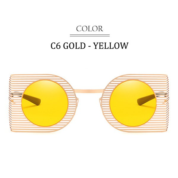 C6 Gold Frame Yellow Lens