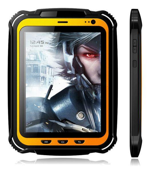 Industrielles Tablet-PC-Handy GPS IP67 des Handheld-schroffes Tablet-PC äußeres im Freien wasserdichter Viererkabelkern NFC 15000mAH 2GB RAM