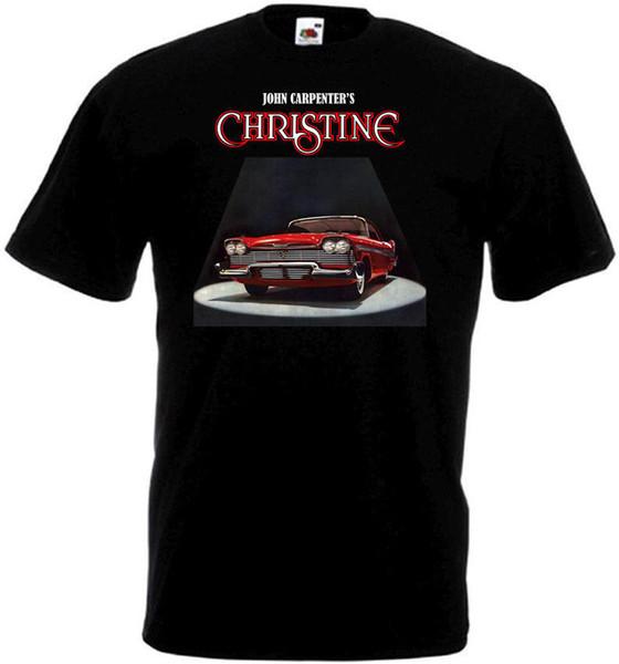 Christine V7 T Shirt Black Movie Poster All Sizes S - 3xl Cheap Sale 100 % Cotton T-shirt For Boys Tops O - Neck Shirts