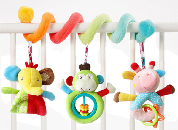 Stroller hanging bed hanging baby educational toy bed hanging rattle baby toys baby gift wholesale oem high quality 2018 new hot sale