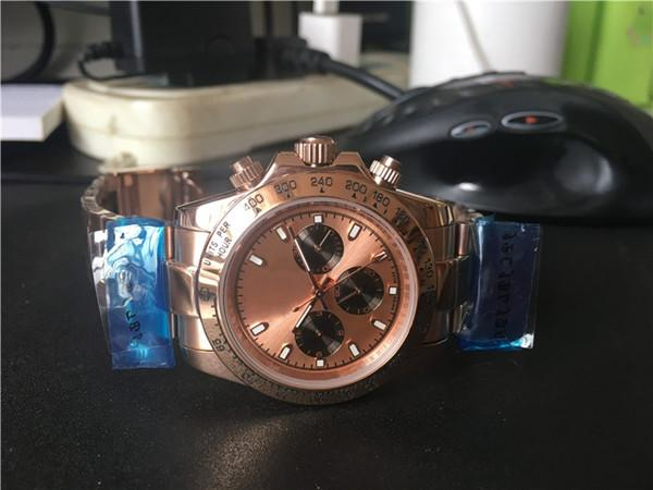 or rose automatique pas de chronographe