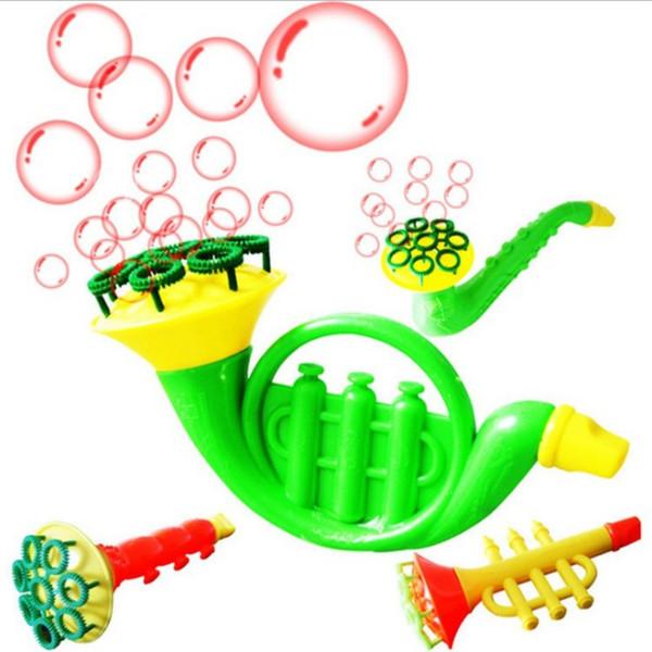 Nuovo arrivo acqua che soffia giocattoli strumenti musicali forma di sassofono bolla sapone per bambini divertente giocattolo popolare 1 3jl BB