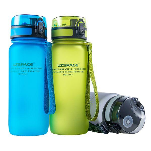 650ml Bpa Free Plastic Bicycle Sports Water Bottles Travel Camping Hiking Drinking Shaker My Bottle Leakproof Drinkware