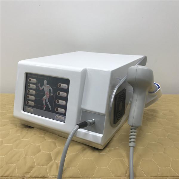 Yüksek kaliteli kompresör 6 bar 2500000 çekim şok dalga tedavisi makinesi / şok dalga tedavisi makinesi / ekstrakorporeal şok dalga tedavisi