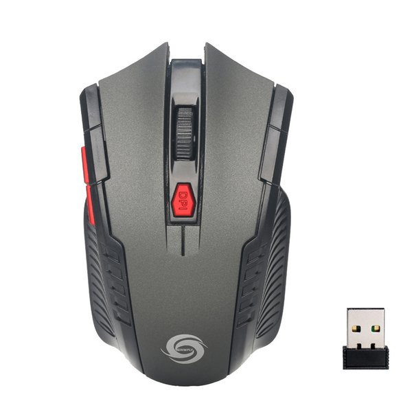 Hot sale 6 Key Gaming Mouse 2.4GHz 2000DPI Mice Optical Wireless Mouse USB Receiver PC Laptop Wireless For macbook Gifts