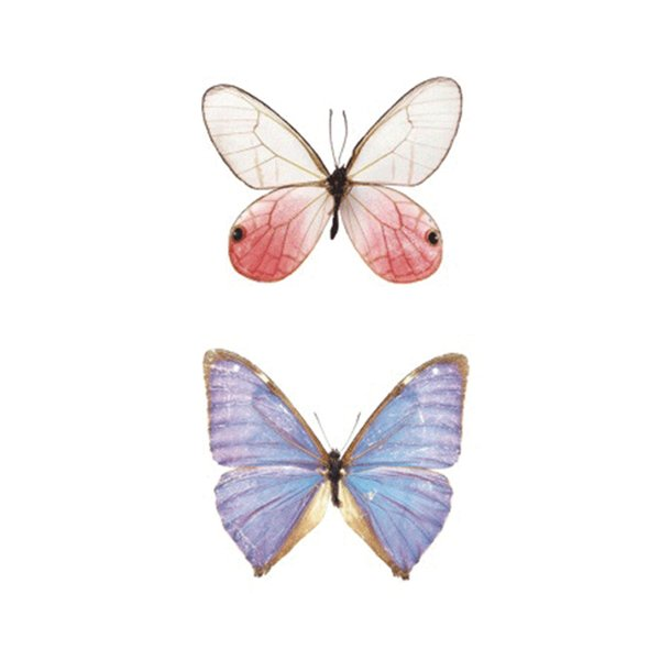 2017NEW Hot Design Temporary Tattoo for Adult Waterproof Tatoo Sticker Body Art Beautiful Dream Butterfly Fake Tattoo Man Woman