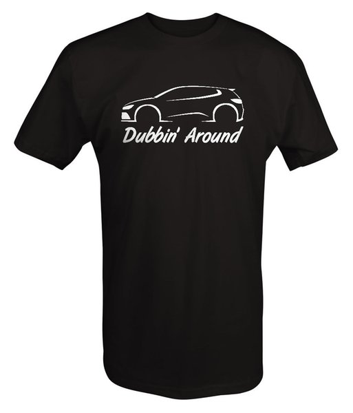 VW - Dubbin' Around - Turbo Golf Rabbit GTI R32 AWD T Shirt