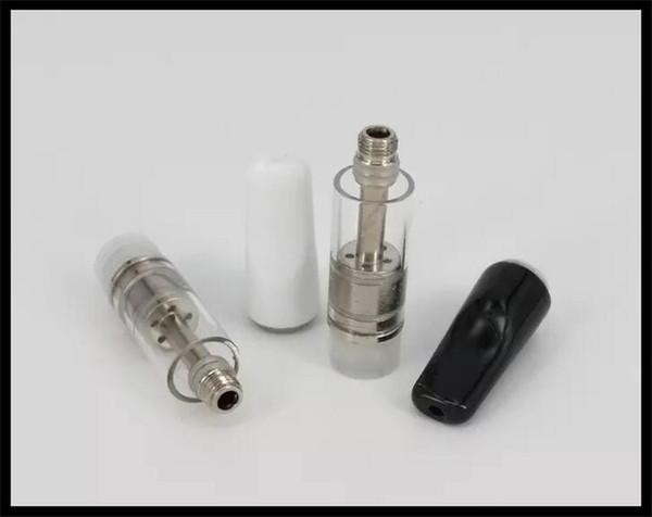 510 e cigarette préchauffage mod verre cartouche d \ 'huile en bas flux d \' écoulement d \ 'air débordant d \' huile de remplissage V7 cartouche en verre stylet ouvert atomiseur