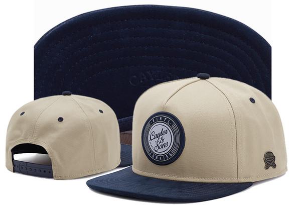 Cayler Sons Ayarlanabilir Snapback Erkekler Kadınlar Beyzbol Şapkası Unisex Düz Bill Şapka Ayarlamak Moda Hip Hop Şapkalar Açık Dans Pamuk Caps