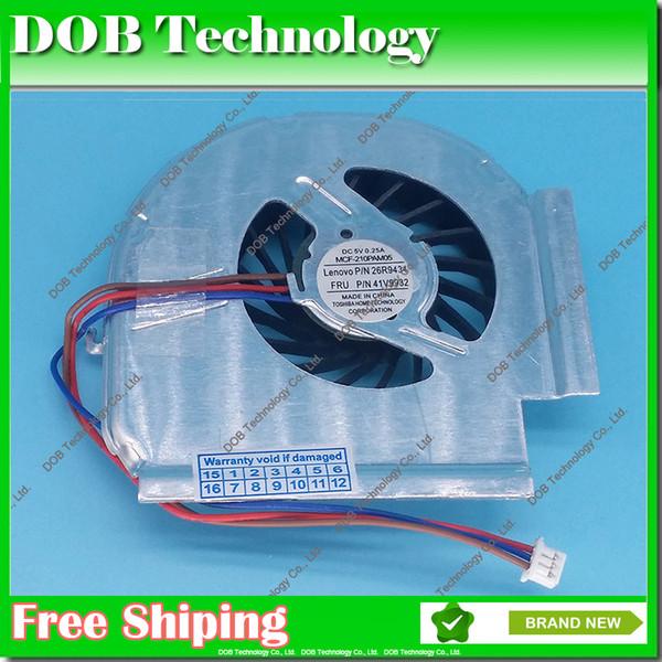 Original Laptop CPU Cooling Fan for Lenovo IBM T61 T61P MCF-217PAM05 3 PIN 42W2461 42W2460