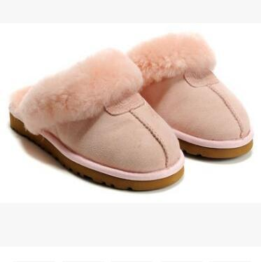 HOT SALE 2018 High quality WGG Warm cotton slippers Men And Womens slippers Women's Boots Snow Boots Designer Indoor Cotton slippers
