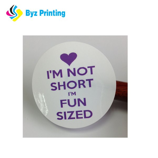 OEM Dome Cartoon Round Custom Non-toxic Sticker Adhesive Sticker Printing Waterproof Die Cut Sticker Label Printing