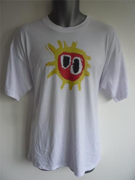 Primal Scream Screamadelica inspirée Logo T-shirt Madchester Rave