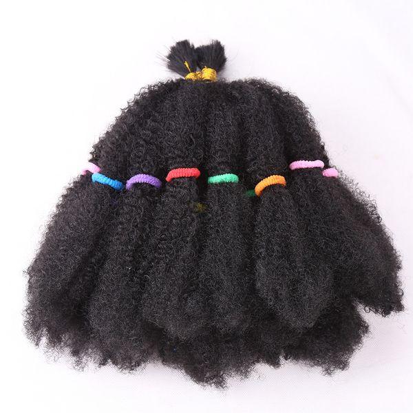 Мода Мега афро кудрявый твист синтетические волосы 22