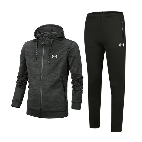 Survêtement Designer de luxe Printemps Automne Marque Survêtements Hommes avec Logo Zipper Costume Hauts + Pantalons Mens Casual Sweat Costumes Sport