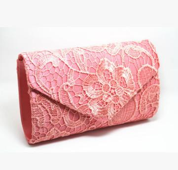 Pink chain bags