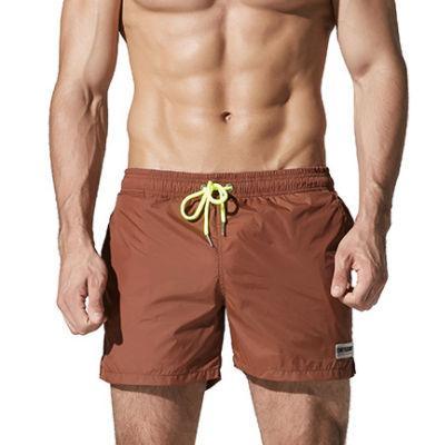 b13dce9335 New Surf Swim Shorts Mens Boardshorts Nylon Light Thin Beach Wear Bermuda  Board Short Swimwear Swimming Trunks Zwembroek Man