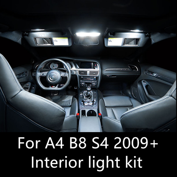 2019 Shinmanerror Free Auto Led Bulbs Car Led Interior Light Kit Dome Lamp For Audi A4 B8 S4 Accessories 2009 2015 Interior From Molls 22 42