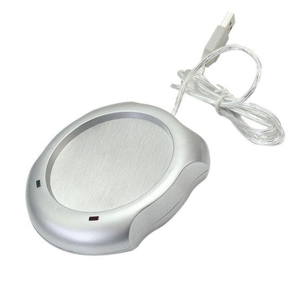 Heiße neue tragbare elektrische USB Tray Mat Pad Powered Tasse Milch Kaffee Getränke Wärmer Insulation Coaster Büro Heizgerät