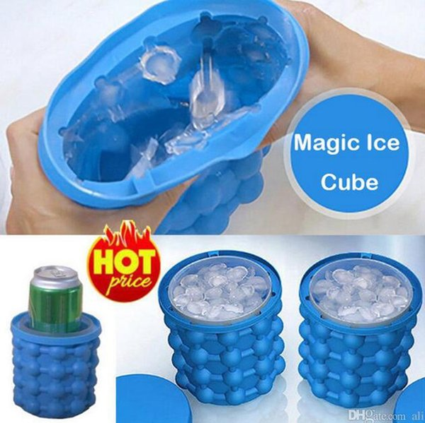 Magic Ice Maker Eiswürfelform Genie revolutionäre platzsparende Eis Küche Werkze
