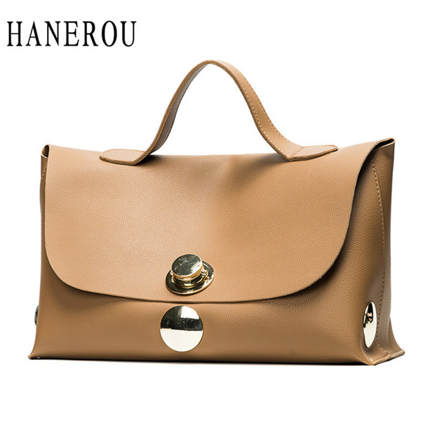 ed4ea4711ac8 Fashion Luxury Lock Women Handbags High Quality Pu Leather Bags Handbags  Women Famous Brands Big Capacity Ladies Hand Bags Sac