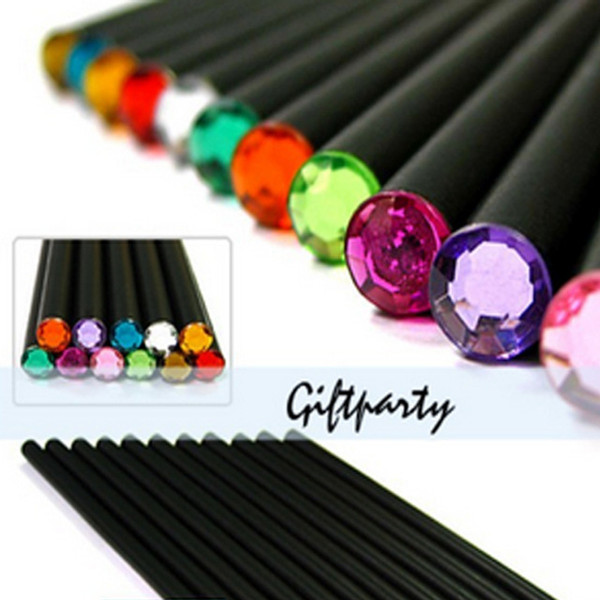 2018 Diamond Color Pencils Hb 12 colors Stationery pencils Drawing Supplies For School Office Writing Supplies