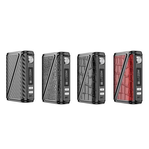 Elektronik Sigara Modları Orijinal Rofvape Warlock Z-BOX 233 w Kutusu Mod Vape Deri Tasarım Büyük Güç Sıcaklık Kontrolü