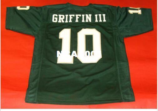 new product c2b00 95164 Men CUSTOM #10 ROBERT GRIFFIN III CUSTOM BAYLOR BEARS College Jersey size  s-4XL or custom any name or number jersey