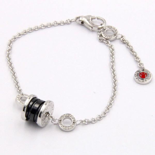 Authentic 925 Sterling Silver jewelry round ring with BV brand logo Charm Bracelets SAVE THE CHILDREN Charity bracelet