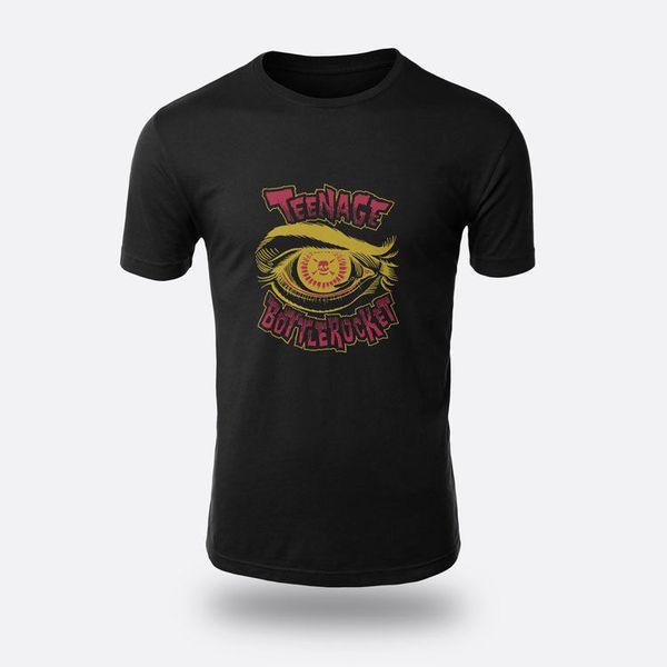The Skate Punk Teenage Bottlerocket Tees Men's Black S - 3xl T Shirt Fashion Men Printed T Shirt New Arrival Men's Short