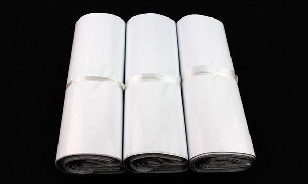 Di buona qualità 28x42cm Bianco Mailer Bags Self-seal Mailbag Busta di plastica Corriere Mailing postale Borse Autoadesive Express Poly