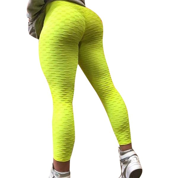 NORMOV Solid High Waist Leggings Women Workout Sexy Push Up Breathable Fitness Clothing Stretch Classic Trousers Female 3 Color S18101502