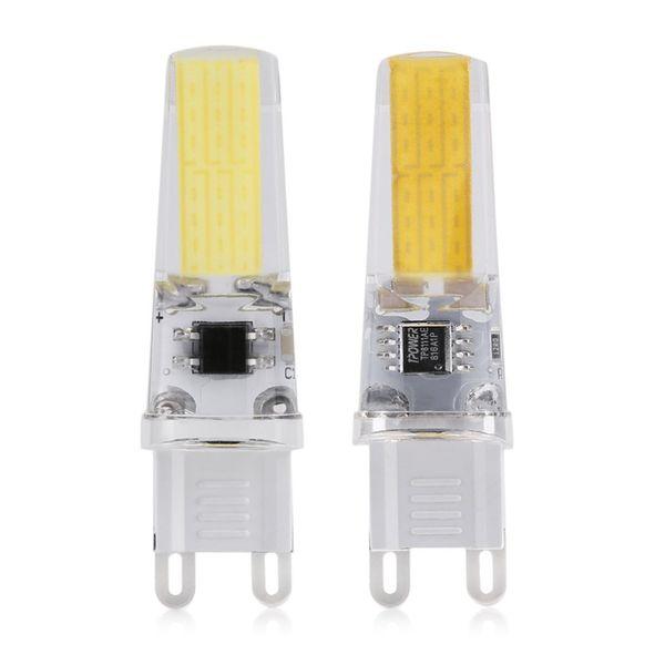 Dimmable&Decorative G9 COB 4W AC 100-120V G9 LED Lamp Ultra Bright 360 Beam Angle Chandelier Spotlight Bulb