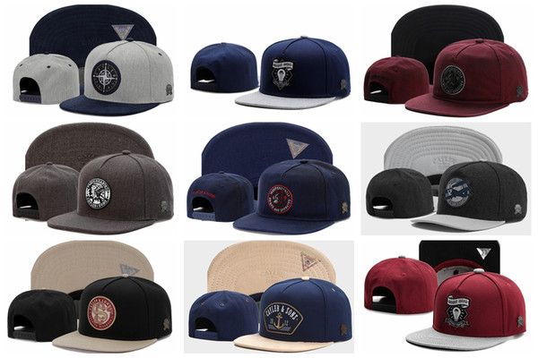 High quality snapback Cayler & Sons embroidery hip hop cap flat bill baseball caps for men and women dad hats free shipping
