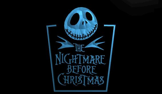 LS954-b-Nightmare-before-Christmas-NEW-Neon-Light-Sign Decor Free Shipping Dropshipping Wholesale 8 colors to choose