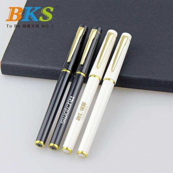 Melhor Qualidade Mais Novo Chinês Atacado Moda Pesado Caneta Logotipo Personalizado Promocional Gel Caneta De Tinta 5 pçs / lote