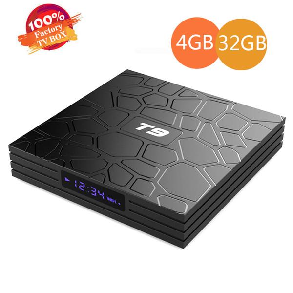 T9 Android 8.1 Smart TV BOX RK3328 Quad Core 4GB//32GB BT4.0 USB3.0 WiFi 4K Media